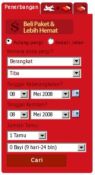 Booking Online Tiket Pesawat Air Asia