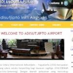 Website Bandara Adisutjipto