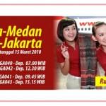 Mulai 15 Maret Citilink Buka Rute Jakarta Medan