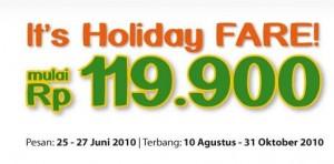 Mandala Promotion - Holiday Fare