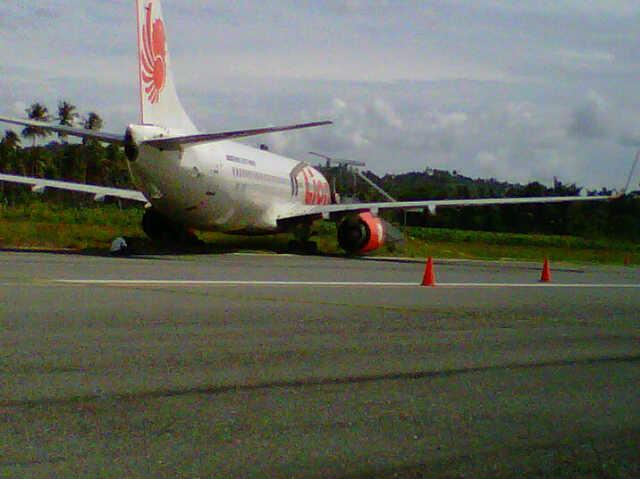 Lion Air Tabrak Sapi di Bandara Jalaluddin Gorontalo