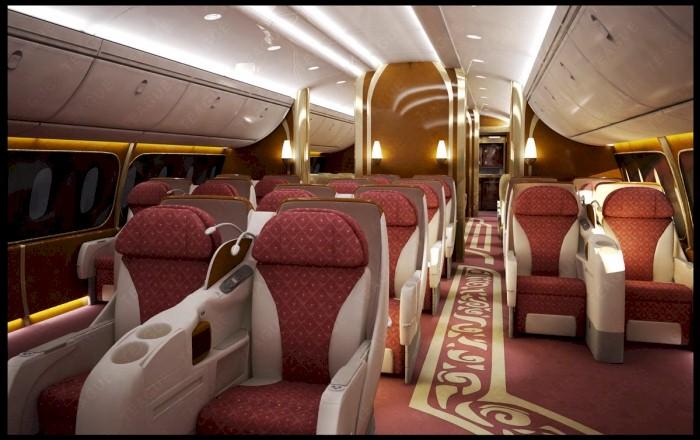 Mewahnya Pesawat Kepresidenan Republik Indonesia