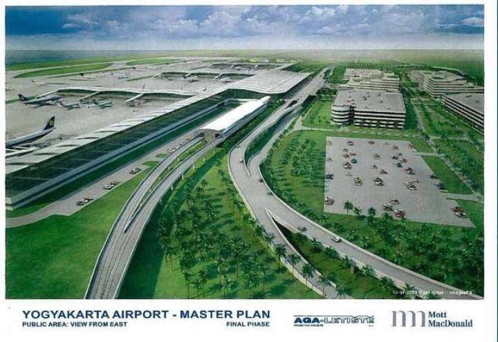 Bandara Kulonprogo Jogja Ditargetkan Beroperasi 2018