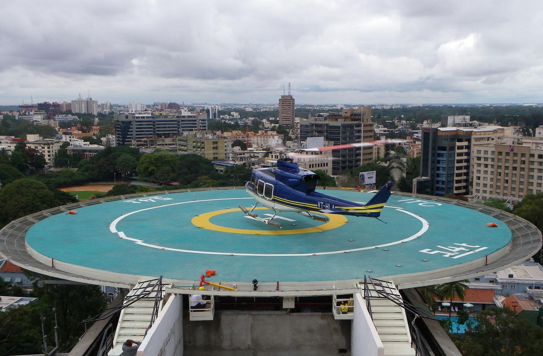 Pengertian Landasan Helikopter Helipad
