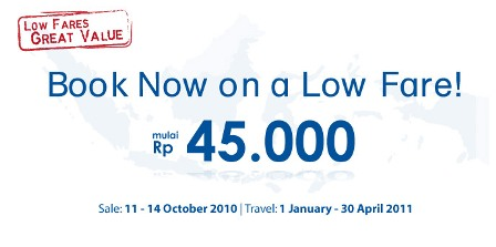 Mandala Low Fare For New Year Trip