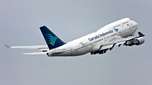 Penerbangan Garuda Normal Kembali