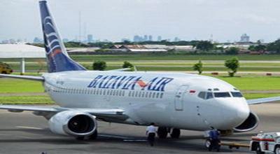 Batavia Air Mendarat Darurat di Juanda