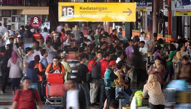 Bandara Soekarno-Hatta Mulai Dipadati Pemudik