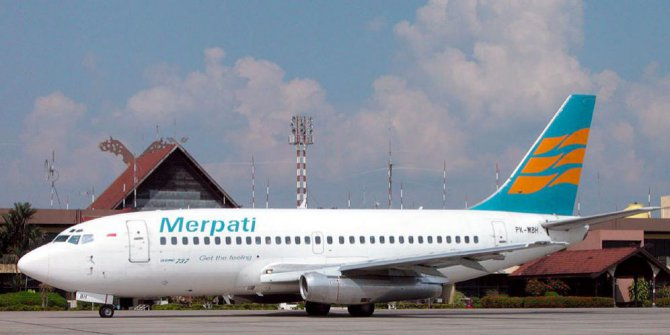 19 Rute Milik Merpati Airlines Ditawarkan ke Maskapai Lain